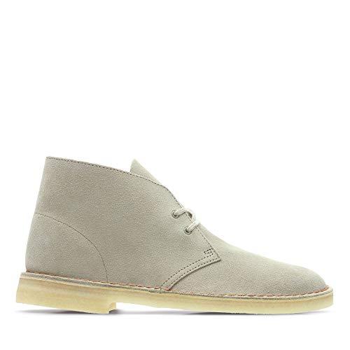 Clarks Originals Herren Desert Boots, Beige (Sand Suede), 44 EU
