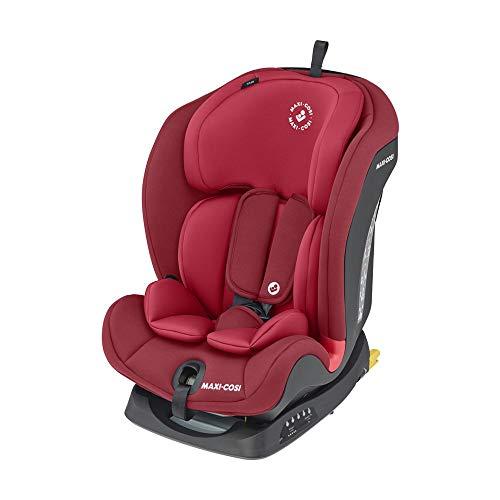 Maxi-Cosi Titan Silla Coche bebé grupo 1/2/3 isofix, 9 - 36 kg, silla auto bebé reclinable, crece con el niño desde 9 meses hasta 12 años, color...