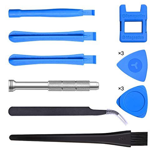 23IN1 Triwing Screwdriver Kits Compatible for Nintendo, JoyCon, Xbox One, PS4 with T6 T8 T10 Security TorxTR Screwdriver Game Bit Compatible for Switch Lite, NES, GBA, Xbox Controller Repair Tool Set