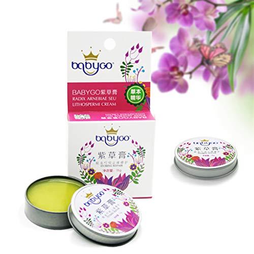VNEIRW Juckreiz Intimpflege Creme Magical Mosquito Bite Antipruritic Repair Cream für Jede Haut Mückenstiche 15g (Gelb)