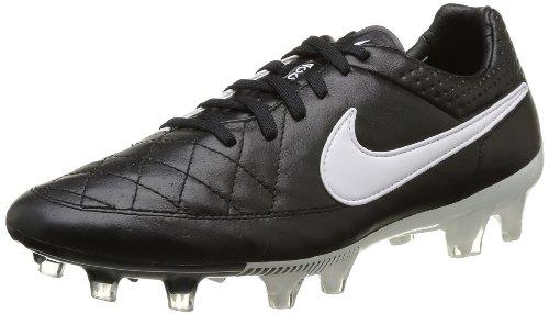 Nike Tiempo Legend V Fg 631518-010 Herren Fußballschuhe Training Schwarz (Black/White-Black) 41