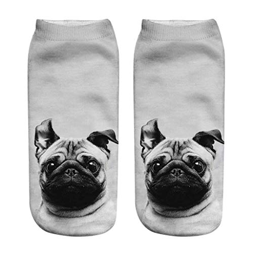 Covers 3D Socken für Herren Damen - Unisex Socke mit Welpen Muster Tennissocken Sportsocken
