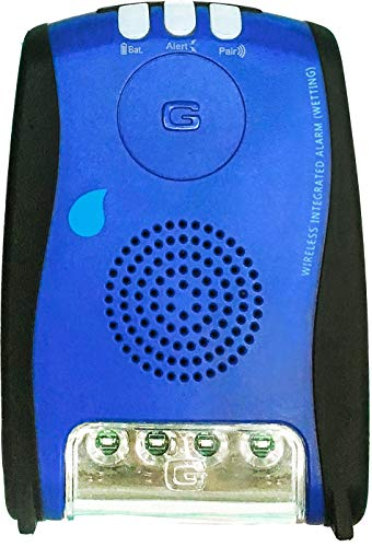 GleenMed Bedwetting Wired Caregiver Alarm – 85/100dB Alarm/Music Alert – Patient Bedwetting Alarm for Elderly/Kids/Adult/Incontinence Alarm