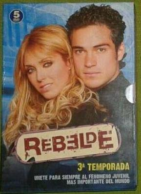 Pack Rebelde (A3) (3ª temporada) [DVD]