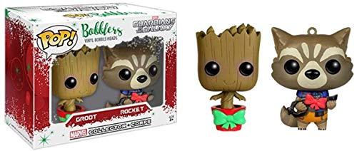 Funko POP! Marvel: Guardianes de la Galaxia: Rocket y Groot Exclusivo