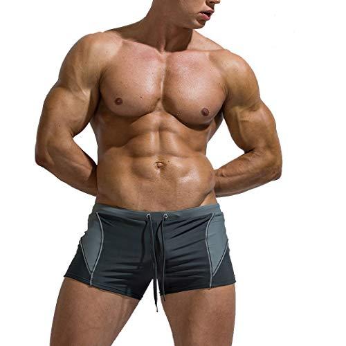 Troncos De Natación De Los Hombres Sexy Boxeador
