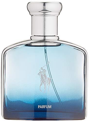 RALPH LAUREN Polo Blue Deep Parfum POUR Homme 75ML Unisex Adulto, Negro, Estándar