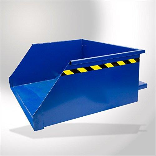 DEMA Staplerschaufel blau 1100 kg / 760 L mech. kippbar
