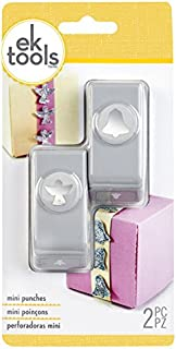 EK Tools 2-Piece Angel and Bell Mini Hole Punch Set