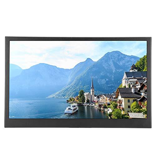 Monitor Portátil, Monitor Juegos Ultradelgado 13,3 Pulgadas, HDMI 1080P 1920 * 1080 IPS HDR Pantalla Juego Portátil con Puerto Type-C/HDMI Compatible con Aspberry Pi Series/ PS4/ Xbox360(Negro)