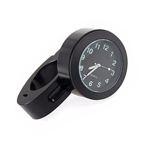 kangOnline Wasserdichte Mini-Uhr für Fahrradlenker, Motorradlenker, mit Zifferblatt, für Outdoor-Sport, Reiten