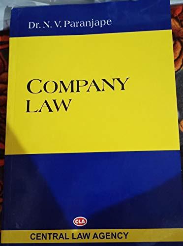 Company law latest edn