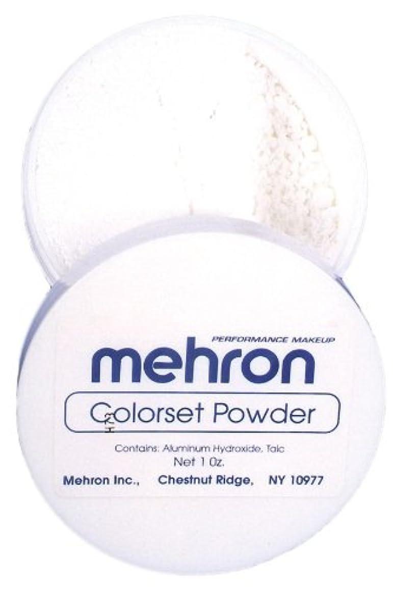 知っているに立ち寄るフラフープ管理者mehron Colorset Powder - Translucent (並行輸入品)