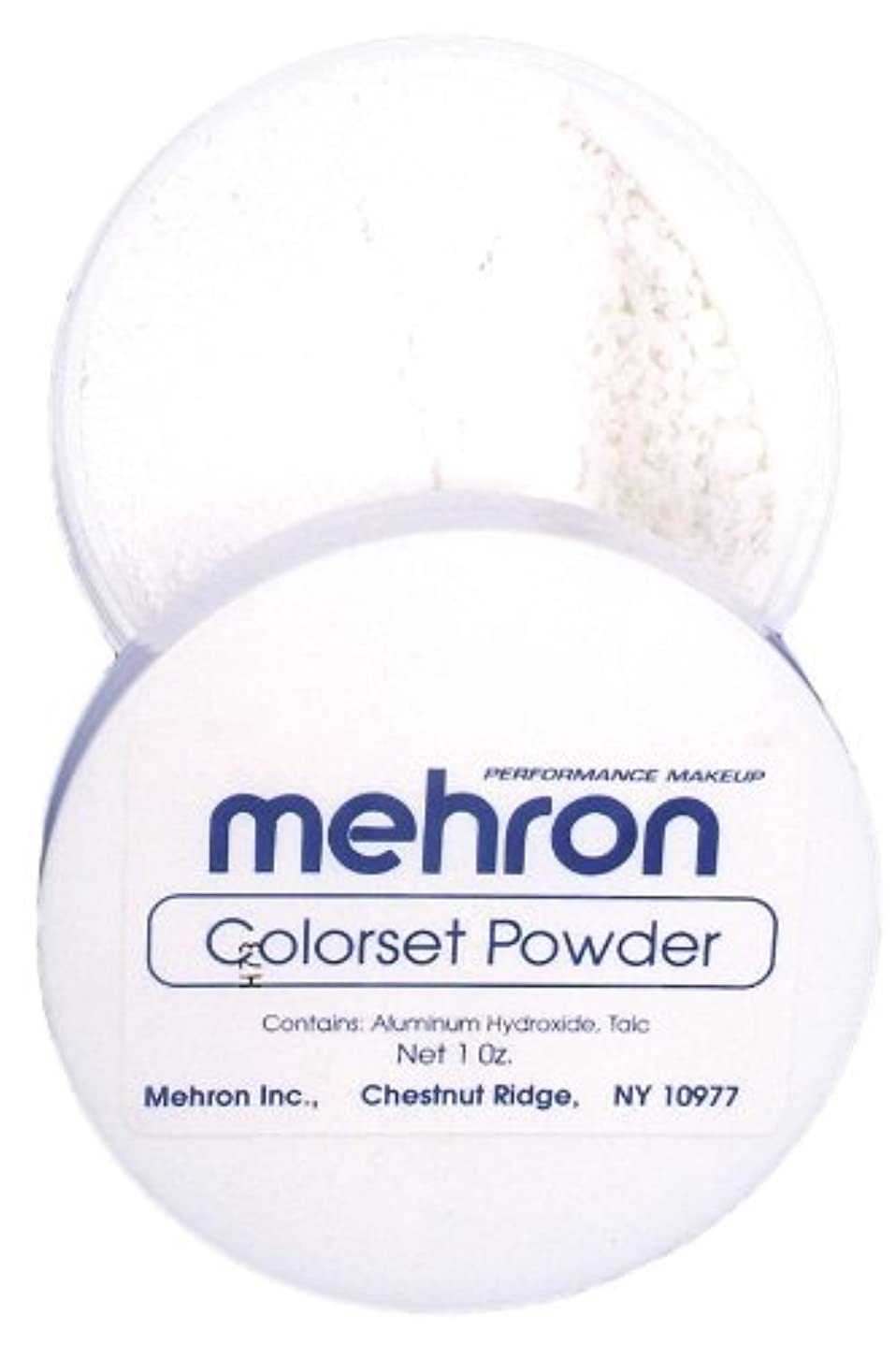 ハチ圧力望まないmehron Colorset Powder - Translucent (並行輸入品)