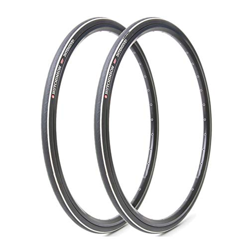 Hutchinson Intensive 2 700x28 Tubeless Ready Black Bike Tires, 2-Pack Kit (700cm x 28/30)