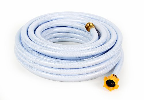 "Camco 50ft TastePURE Drinking Water Hose - Lead and BPA Free, Reinforced for Maximum Kink Resistance 1/2""Inner Diameter (22753)"