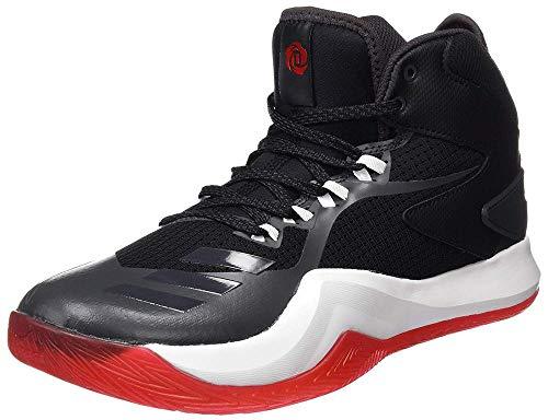 adidas D Rose Dominate Iv, Zapatos de Baloncesto para Hombre, Negro (Negbas/Neguti/Ftwbla), 47 1/3 EU