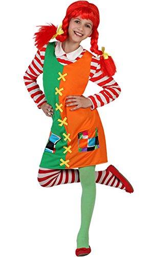 Atosa 23730 - Unartiges Mädchen Kostüm, Größe 10-12 Jahre(145-160), bunt