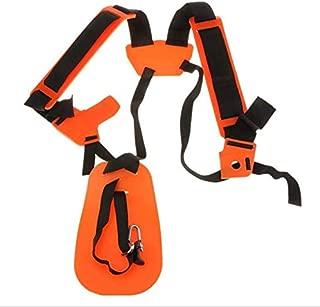 JEKEE Double Shoulder Strap Adjustable for Garden Power Pruner Harness Lawn Mower Grass Trimmer Brush Cutter