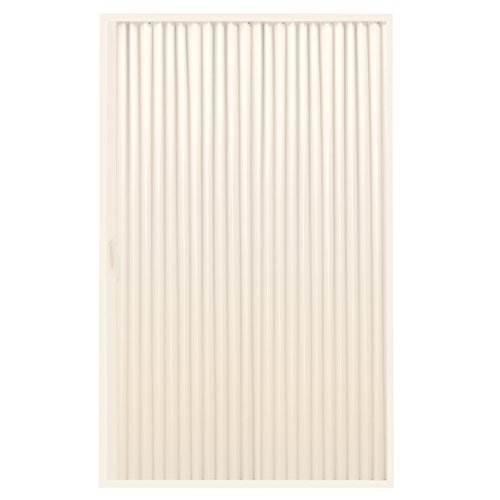 "RecPro RV Shower Doors | RV Pleated Folding Shower Doors (Ivory) 48""x 57"" 4857 Pleated Folding Shower Door"