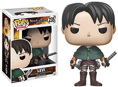 Funko Pop Attack On Titan, Attack On Titan Toys Anime Attack On Titan Eren Jaeger Viny Anime Figuren, Anime Toys Colección de Adornos de PVC Decoración Modelo de Juguete Regalo de Cumpleaños 3.9In