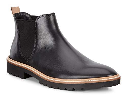 ECCO Damen Incise Tailored Black Nova Stiefeletten, Schwarz 1001, 42 EU
