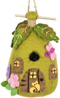 DZI Handmade Designs DZI484019 Fairy House Felt Birdhouse