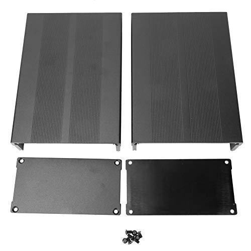 Caja de enfriamiento de aluminio, caja de aluminio de 50x106x150 mm tipo dividido Caja de enfriamiento de aluminio Caja electrónica para disipación de calor carcasa de aluminio
