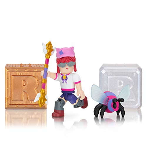 Roblox Action Collection - Star Sorority: Bee Wrangler + Two Mystery Figure Bundle [Includes 3 Exclusive Virtual Items]