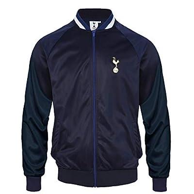 Tottenham Hotspur FC Official Gift Mens Retro Track Top Jacket Navy 3XL