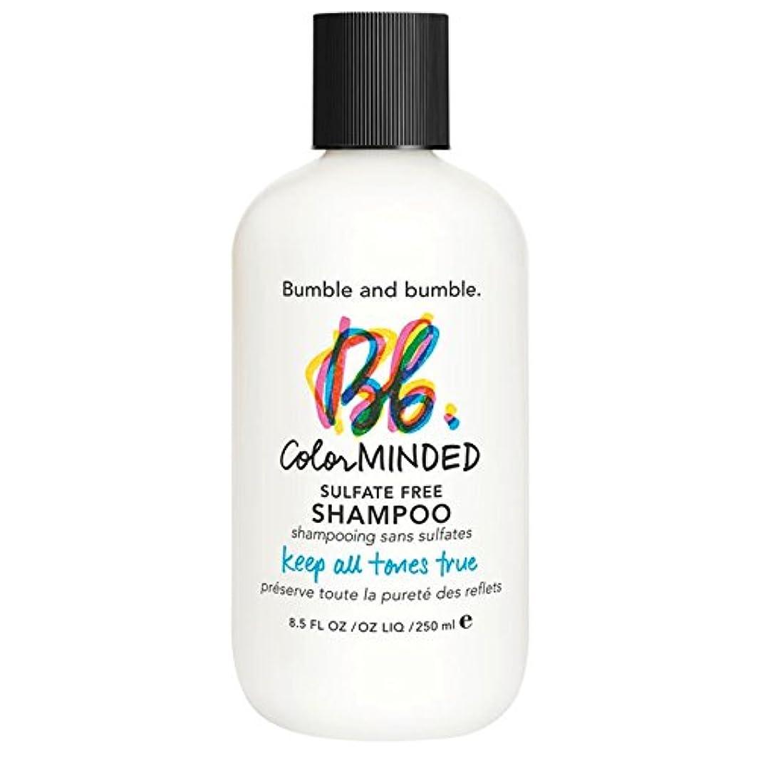 着服忘れっぽい妻バンブルアンドバンブル色は、硫酸無料シャンプー250ミリリットルを気に (Bumble and bumble) (x6) - Bumble and bumble Color Minded Sulfate Free Shampoo 250ml (Pack of 6) [並行輸入品]