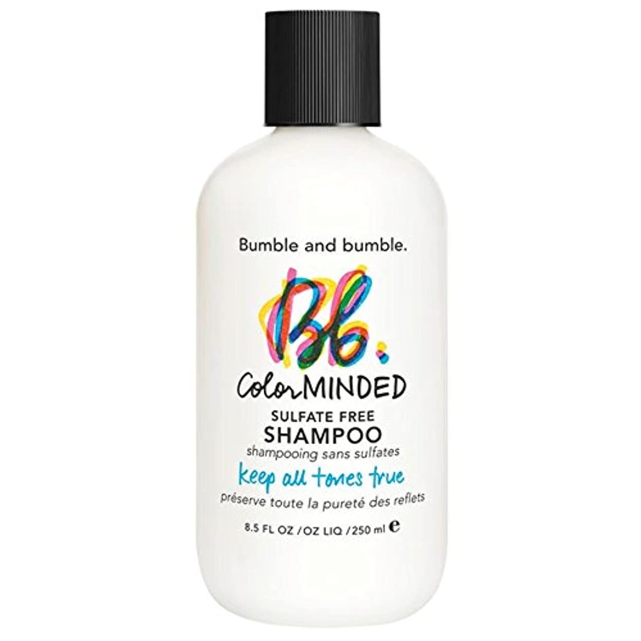 金曜日端寛解バンブルアンドバンブル色は、硫酸無料シャンプー250ミリリットルを気に (Bumble and bumble) (x2) - Bumble and bumble Color Minded Sulfate Free Shampoo 250ml (Pack of 2) [並行輸入品]