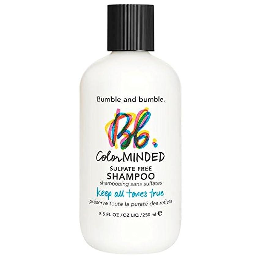 リーダーシップうなずく歴史的バンブルアンドバンブル色は、硫酸無料シャンプー250ミリリットルを気に (Bumble and bumble) (x6) - Bumble and bumble Color Minded Sulfate Free Shampoo 250ml (Pack of 6) [並行輸入品]