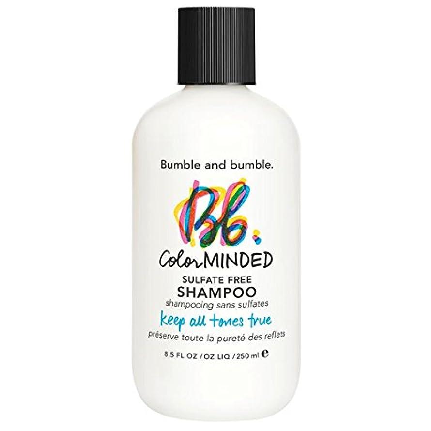 高度より平らな乱用バンブルアンドバンブル色は、硫酸無料シャンプー250ミリリットルを気に (Bumble and bumble) (x6) - Bumble and bumble Color Minded Sulfate Free Shampoo 250ml (Pack of 6) [並行輸入品]