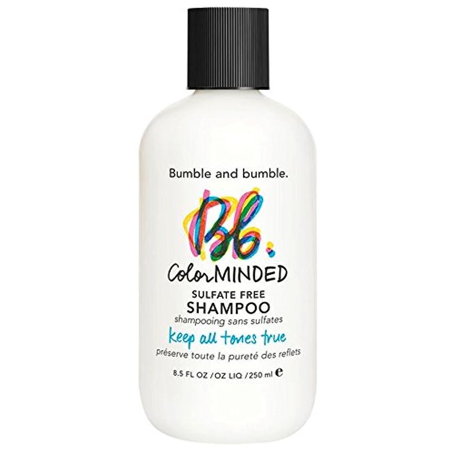クローン内訳月曜バンブルアンドバンブル色は、硫酸無料シャンプー250ミリリットルを気に (Bumble and bumble) (x6) - Bumble and bumble Color Minded Sulfate Free Shampoo 250ml (Pack of 6) [並行輸入品]