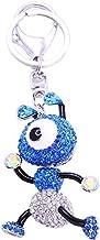 Crystal keychain Blue