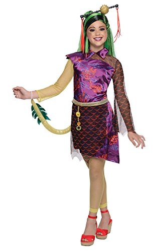 Rubie's-déguisement officiel - Monster High-Déguisement luxe Jinafire Long -Taille L- 886701L