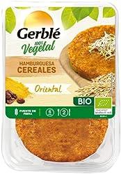 Gerblé Bio - Hamburguesa De Cereales Oriental, 2 x 190 g