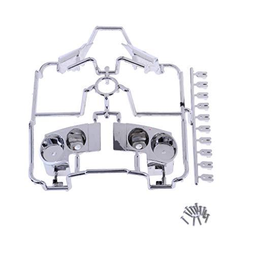 Hellery Taza de Carcasa de Lámpara de Plástico Hobby para RC 1/10 Modelo de Coche GTR R35 Pieza de Repuesto
