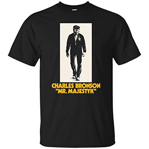 Mr. Majestyk, Charles Bronson, Retro, 1970's, Movie, Vigilante Men's T-Shirt,Black,XL