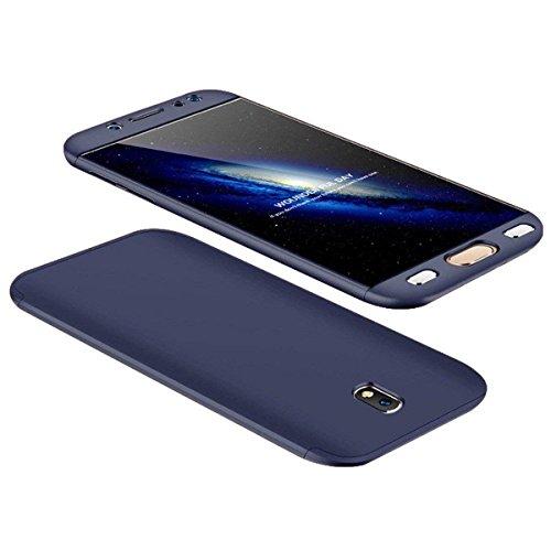 Samsung Galaxy J72017Funda 360Grados Funda Carcasa +–Protector de Pantalla (Vidrio Schuman tzfo