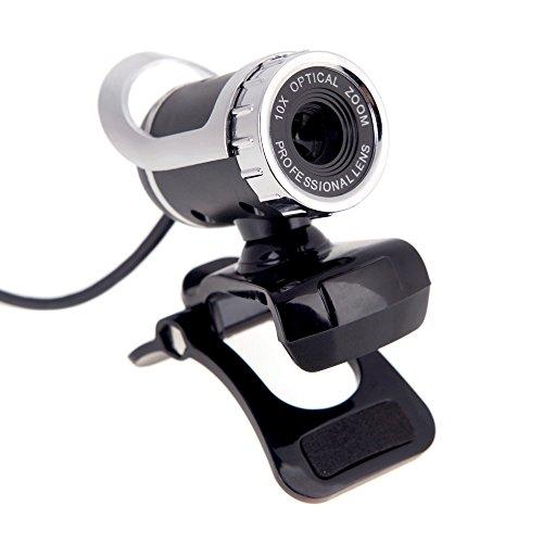 webcam senza microfono KKmoon Webcam Desktop USB Web Cam Videocamera per Laptop Microfono fonoassorbente Integrato Videocamera per PC Laptop