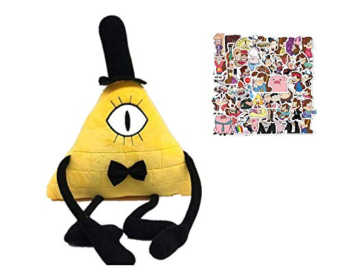 LYH2019 New 28Cm Gravity Falls Bill Cipher Plush Toy Stuffed Toys A Birthday Present For Your Child