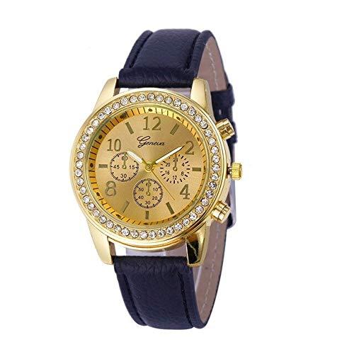 Reloj Minimalista De Color Liso Reloj De Cuarzo para Dama Vestido De...