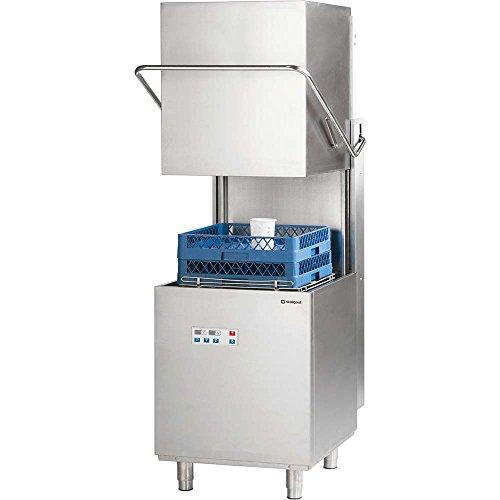 Haubenspülmaschine Spülmaschine DigitalPower inkl. Klarspülmittel- und Reinigerdosierpumpe 690 x 794 x 1500 mm 400 V 11,1 kW aus...