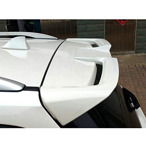 JTAccord ABS Auto Heckspoiler Standard Heckklappe Spoiler Dach Heck Heck Kofferraum Lippe Windschutzscheibe Flügel für Ford Escape Kuga 2013-2019 ST Style, Auto Modifikation Zubehör