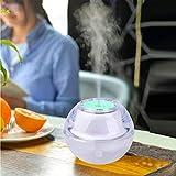 Songlin@yuan Humidificador de Aire por ultrasonidos portátil Sunshine XJ-03 de 2 vatios con luz Nocturna LED, Capacidad: 120 ML, DC 5 V, atomizador de purificación de Aire de Cristal.