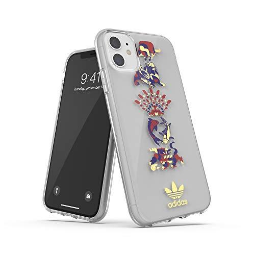 Funda para iPhone 11 de Adidias, con diseño Colorido y gráfico Chino, Funda Protectora Completa, Multicolor