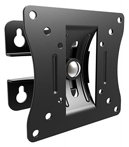 RICOO TV Monitor Wand-Halterung Schwenkbar Neigbar (S0711) Universal für 13-29 Zoll (bis 25-Kg, Max-VESA 100x100) Fernseher PC Bildschirm-Halterung