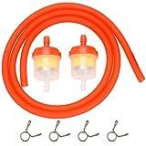 Gas Hose Line Fuel Filter Spring Clips for 110cc 50cc 125cc 150cc...
